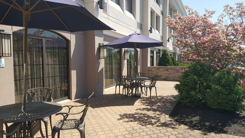 Enjoy the fresh air on the Guest Patio