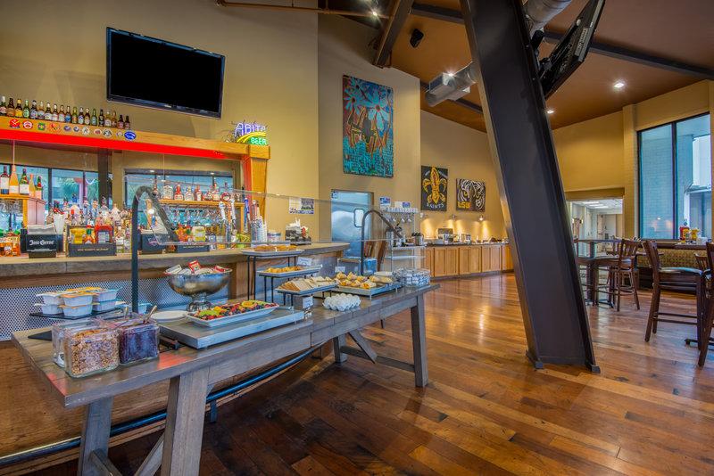 Breakfast @ Holiday Inn New Orleans Westbank
