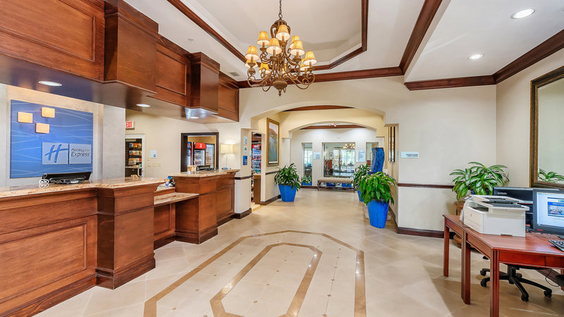 Hotel Lobby & 24hr Business Center.  Multi-lingual staff