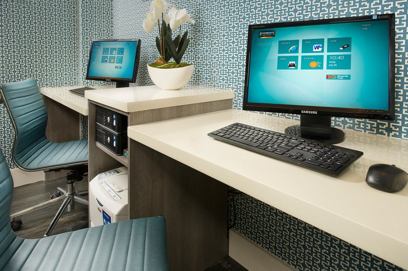 Staybridge Suites Miami Complmentary 24 hour Business Center