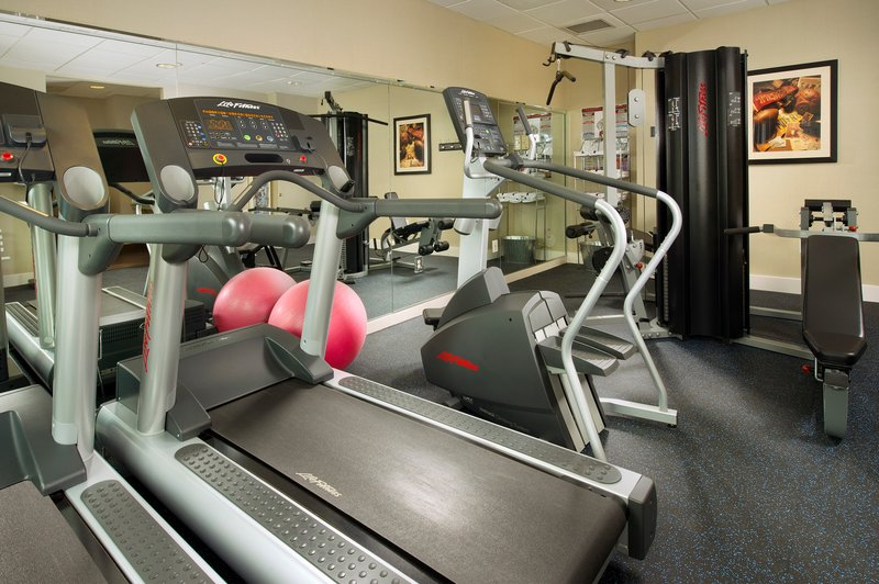 Fitness Center has all the equipment for a great workout