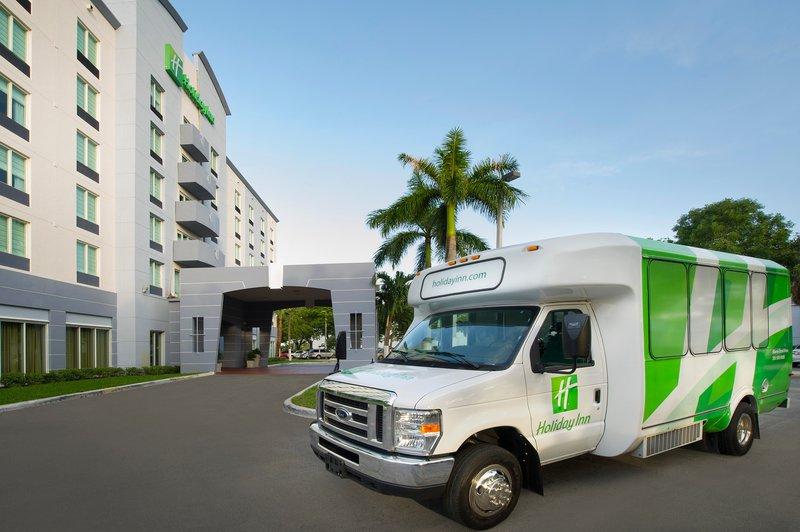 Miami International Airport Free Shutle Holiday Inn Miami Doral