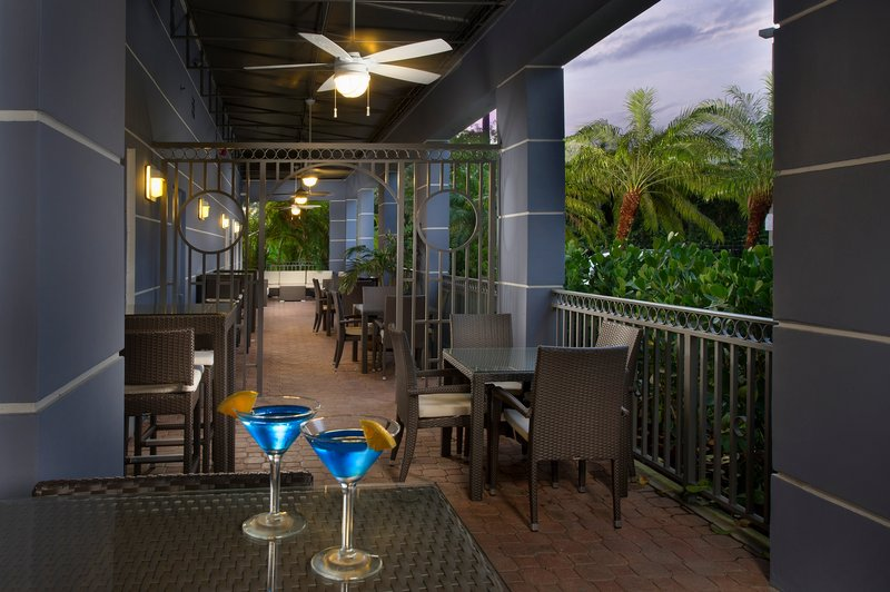 Sit back & enjoy a delicious drink on the patio