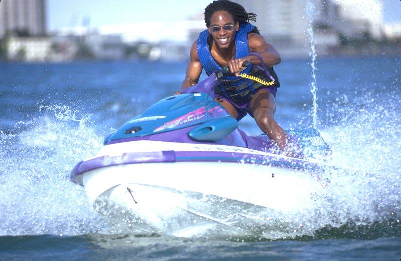 Jet Skiing near Holiday Inn Miami Beach Oceanfront