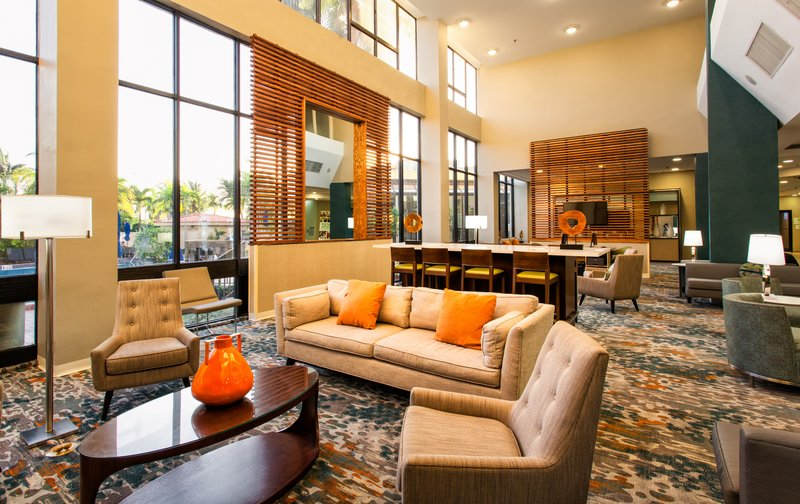 Come see our newly updated lobby furnishings. Just for you!