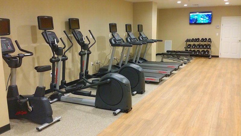 Need a workout? Enjoy our onsite fitness center.