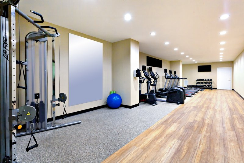 Stay fit in our fully equipped exercise room!