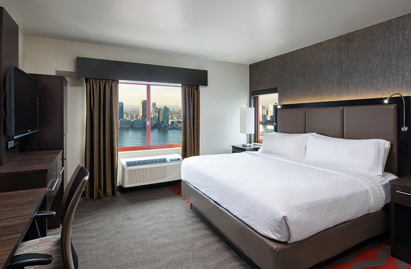 Enjoy the views in our King Bed City View Guest Room