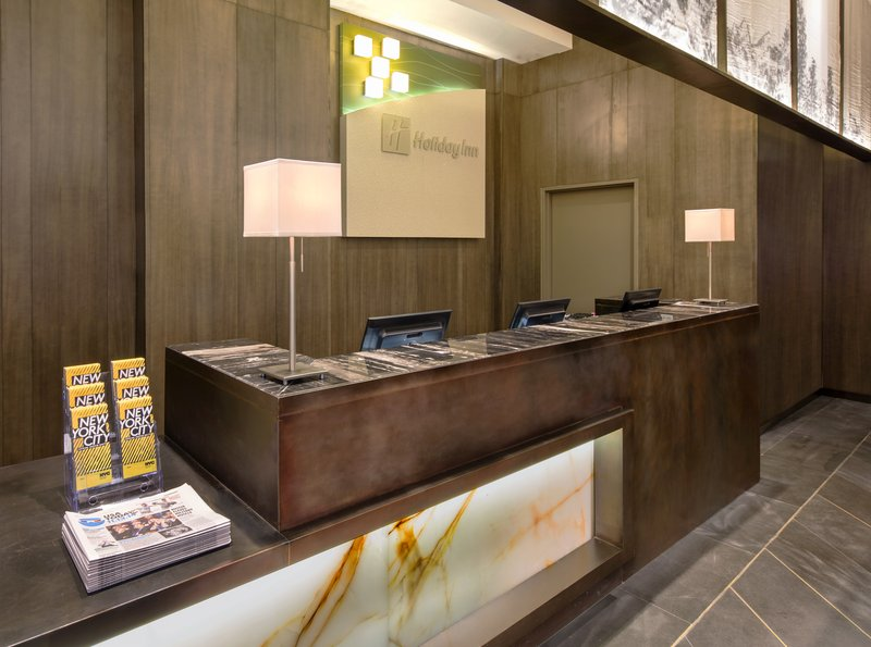 Our friendly Front Desk staff is always willing to help.