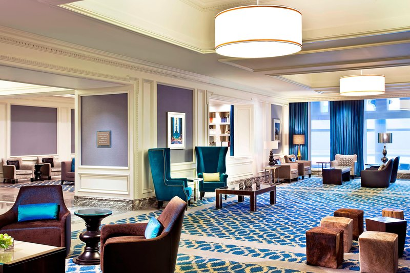 The Westin Philadelphia Lobby
