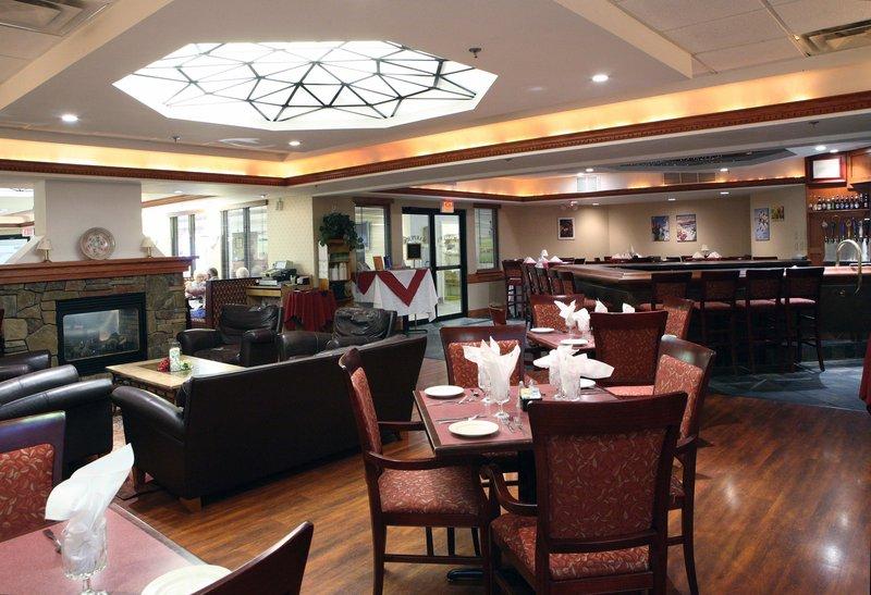 Join us for breakfast and dinner at Harper's Restaurant