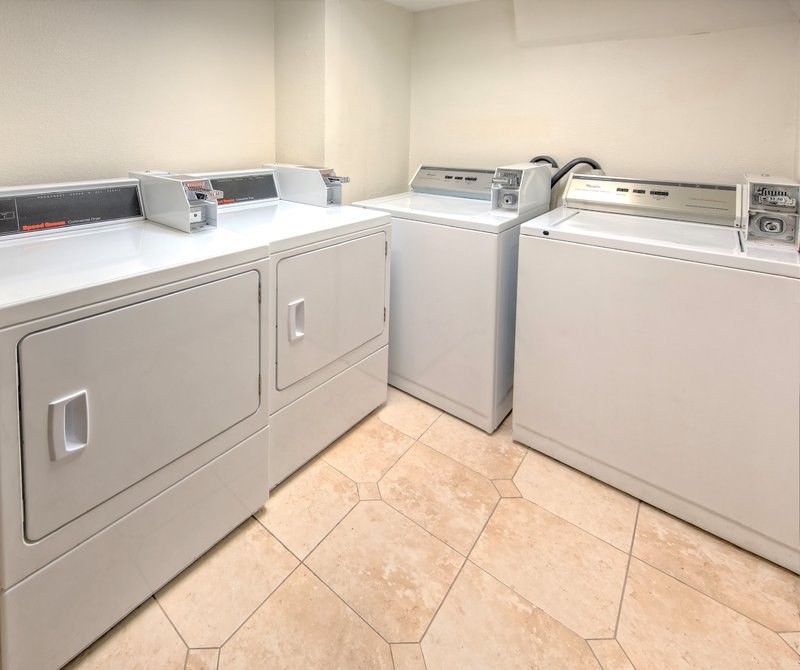 The On-Site Laundry Facility at our Hotel near the Port of Miami.
