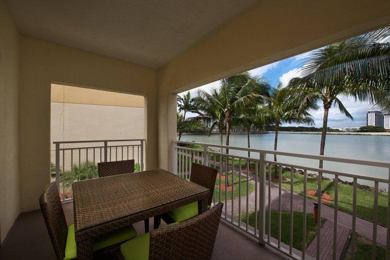 Two-Bedroom Villa - Balcony