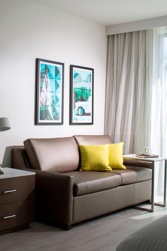 Studio Suite Patio – Living Area