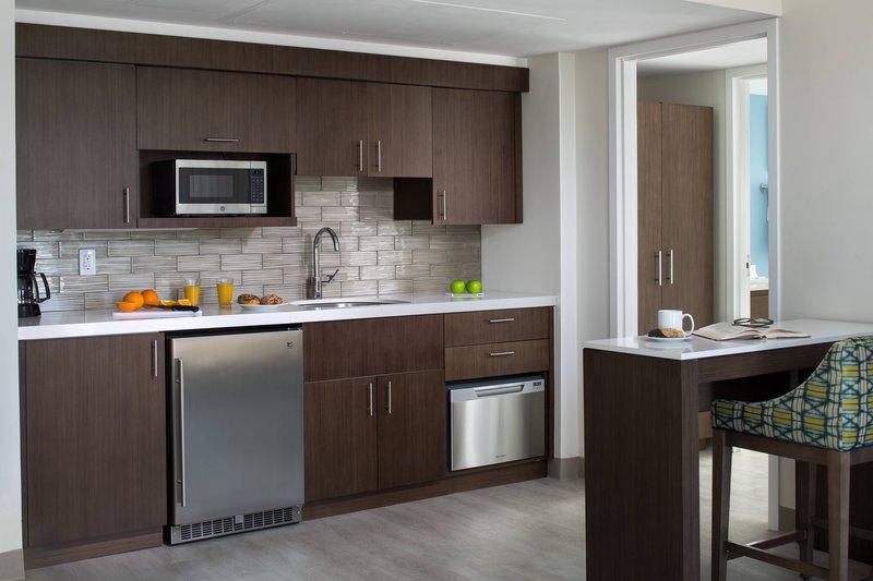 One-Bedroom Suite - Kitchen Area