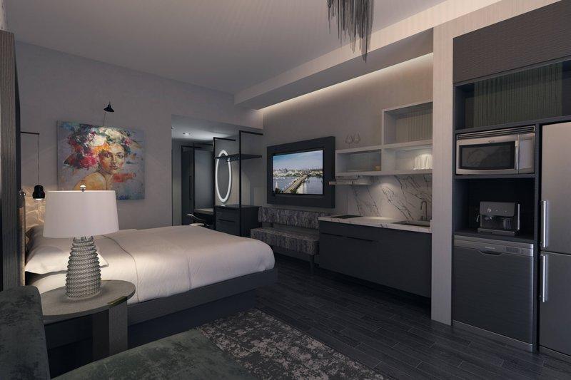King Deluxe Suite - In-Room Amenities