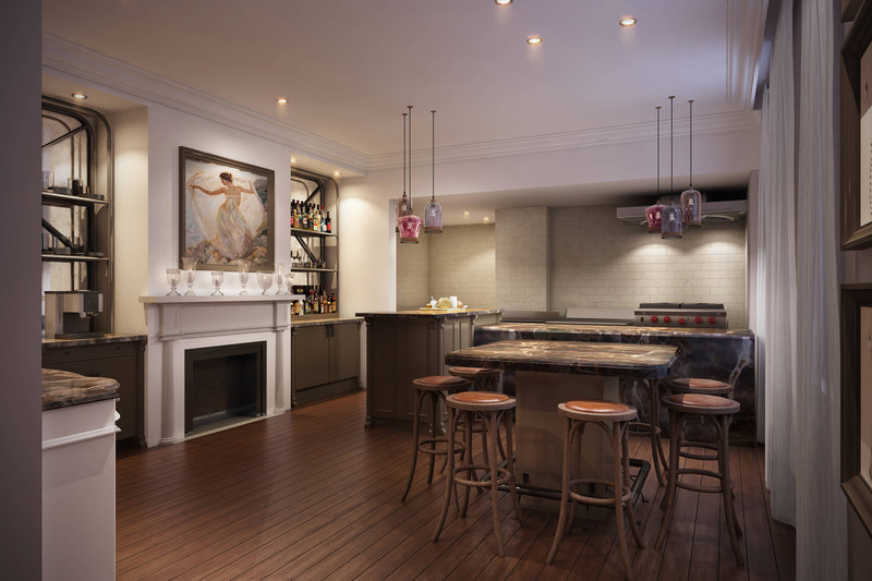 Breakfast & Bar Area