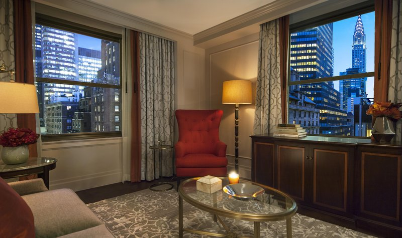 Expansive Chrysler Building Views from Executive Suite