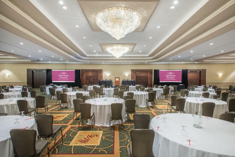 Ballroom-perfect venue for a presentation.