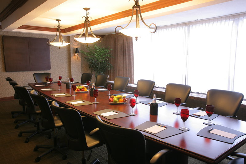 Executive Boardroom with seating up to 14 for your next meeting