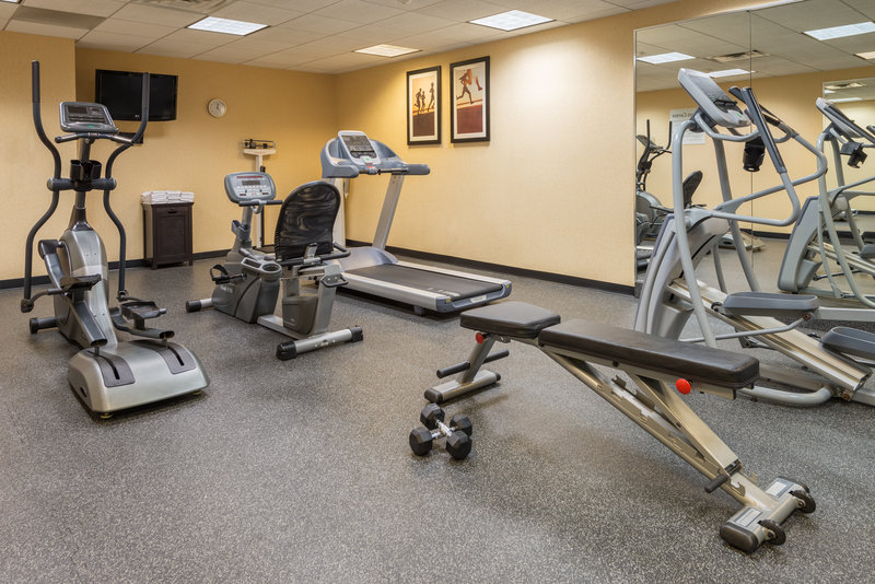 The Fitness Center is open 24 hours for your convenience!