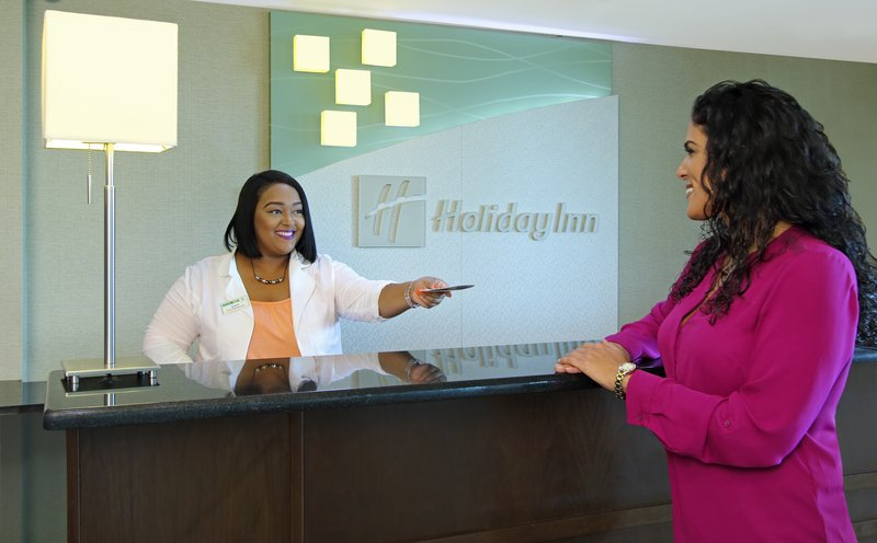 Welcoming Front Desk Holiday Inn Metairie New Orleans Airport