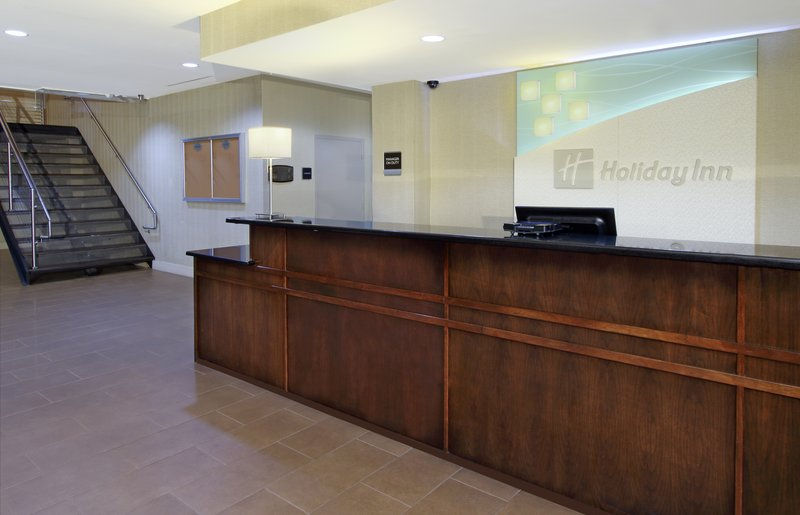 Front Desk at the Holiday Inn Metairie, New Orleans Airport