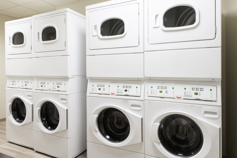 Take advantage of complimentary onsite laundry services.
