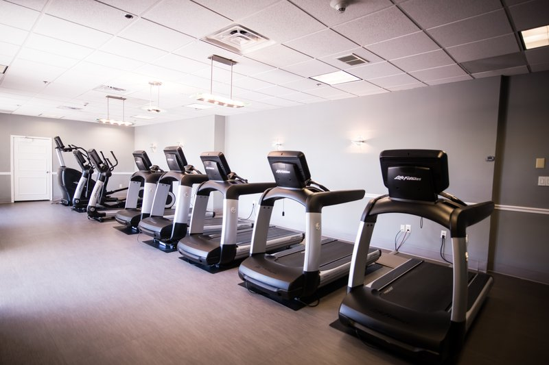 Run, climb, or cycle your way to a better you in our cardio room