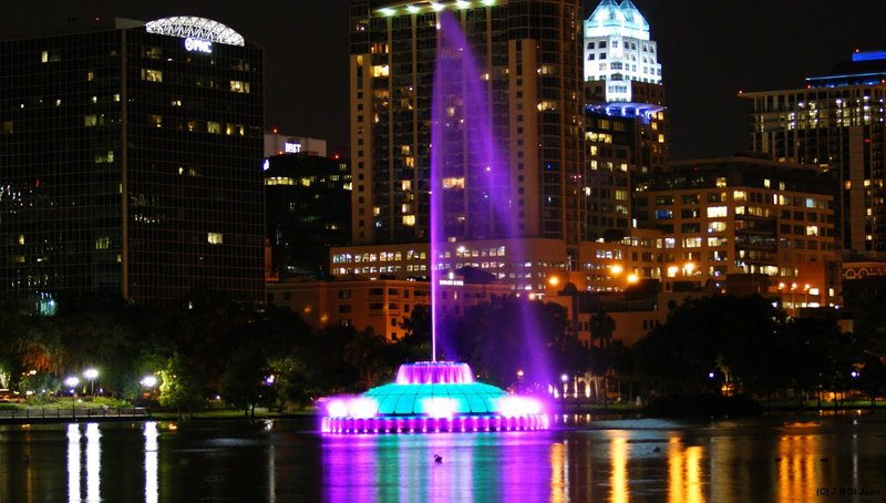 Beautiful Lake Eola
