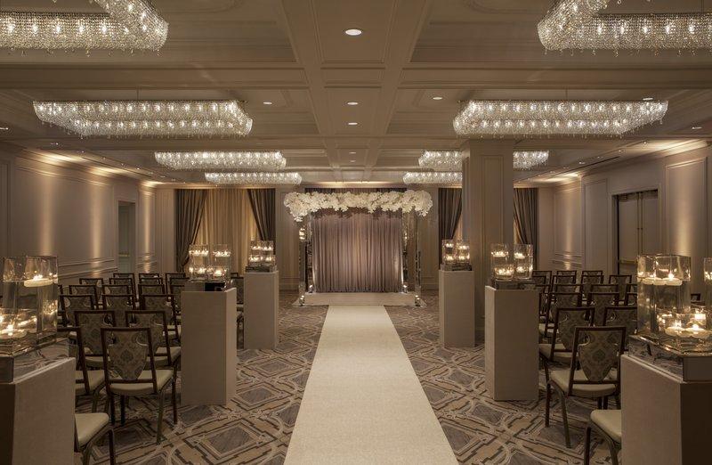 Barclay Salon Elegant Wedding Space