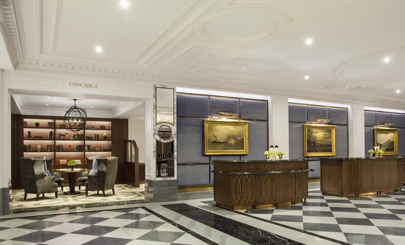 Front Desk and Concierge VIP Check-In