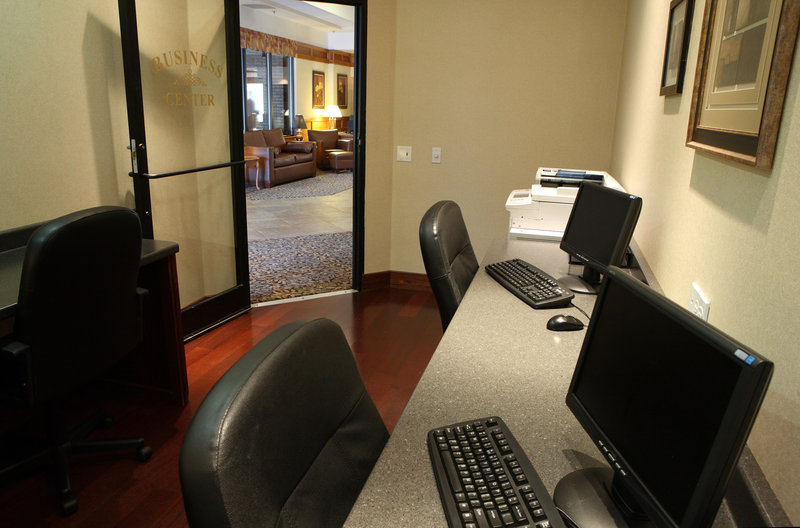 Free printing is available at our Holiday Inn Burlington