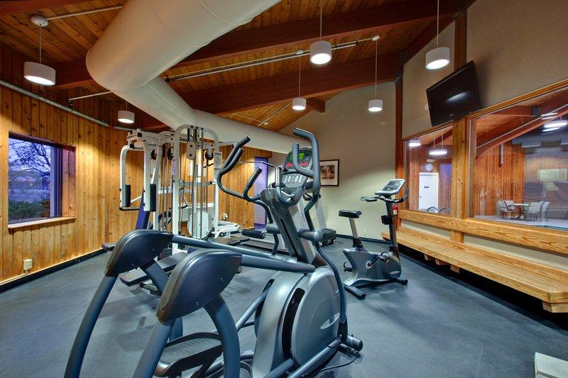 On-Site Fitness room at the Holiday Inn Burlington