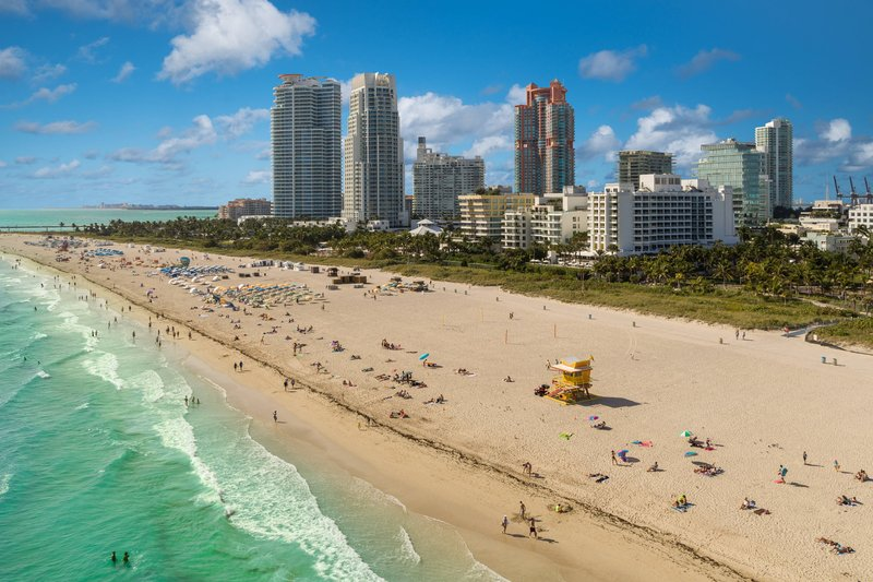 South Beach - Aerial View