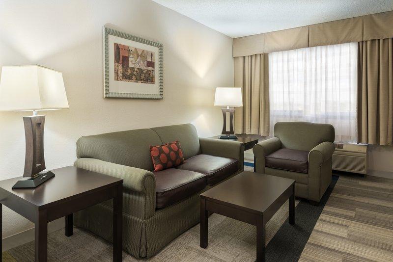 ADA Accessible Suite Living Room Area