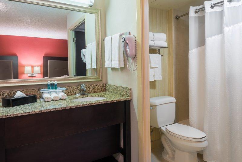 Double Suite Vanity Area - Bathroom