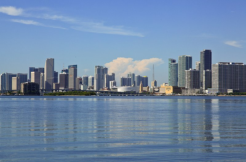 Within minutes from the beautiful Downtown Miami skyline