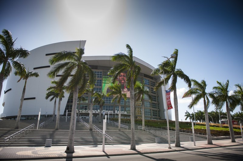 Catch a Miami Heat game or one of your favorite concerts