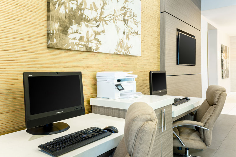 Holiday Inn Miami Doral business center for travel convenience