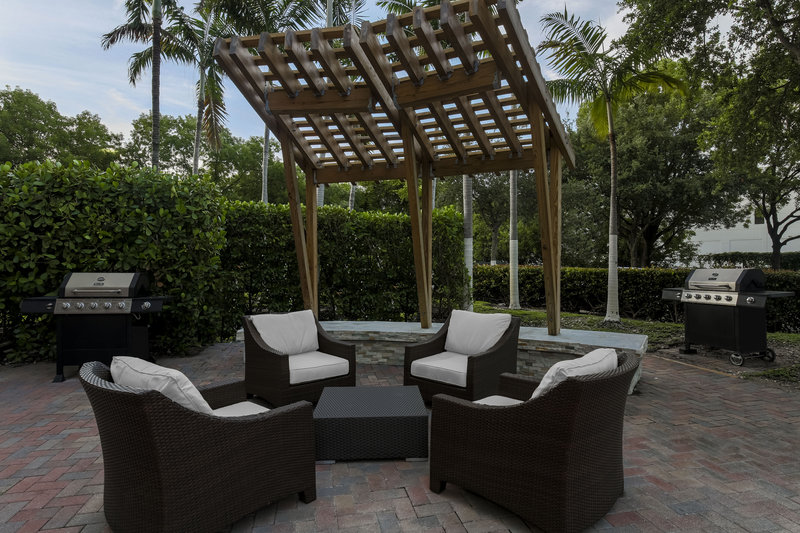Relax outside on our outdoor patio lounge