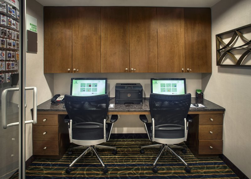 Stay connected while on the road in our 24 hour business center