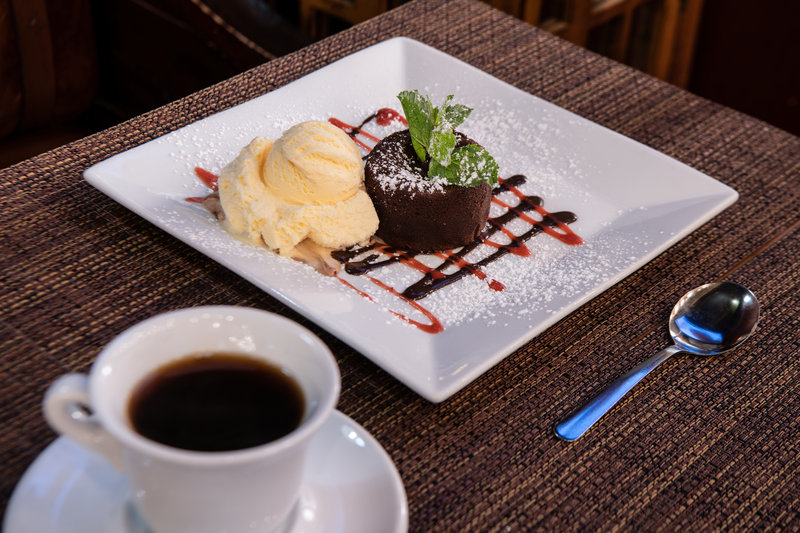 Indulge in delicious sweets to finish off your meal
