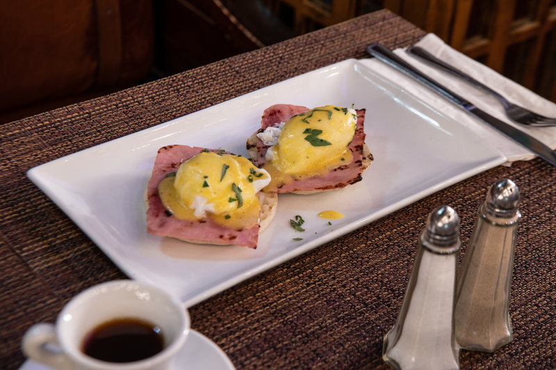 Enjoy breakfast, lunch and dinner at St. George Tavern