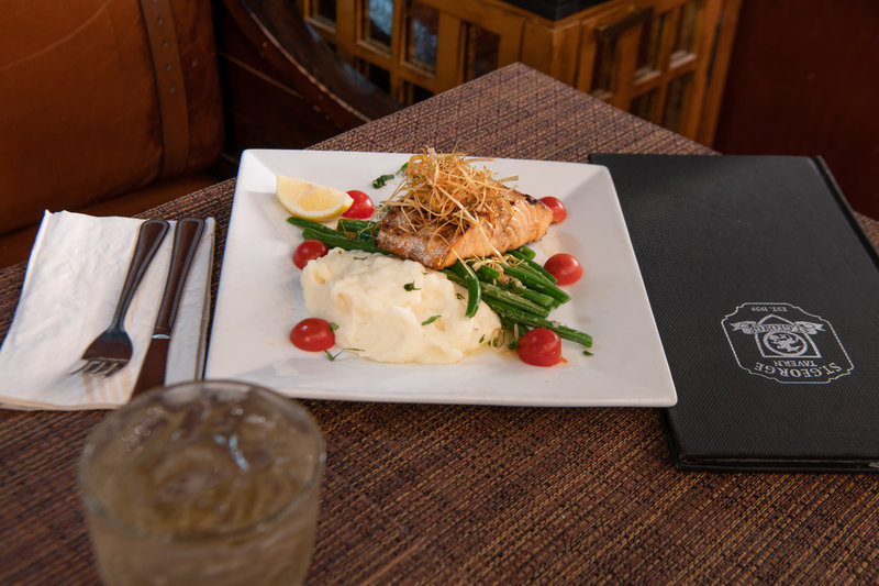 Head to our onsite restaurant for breakfast, lunch and dinner