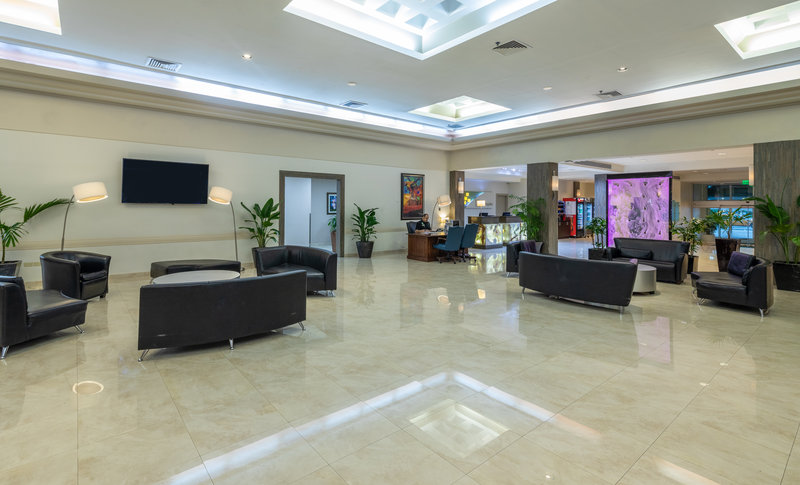 Hotel Lobby in Downtown Miami