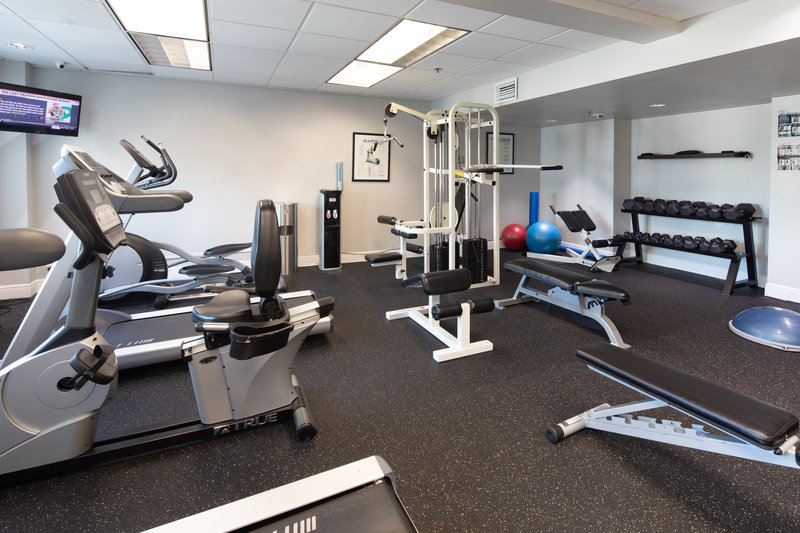Fitness Center in Downtown Miami Hotel