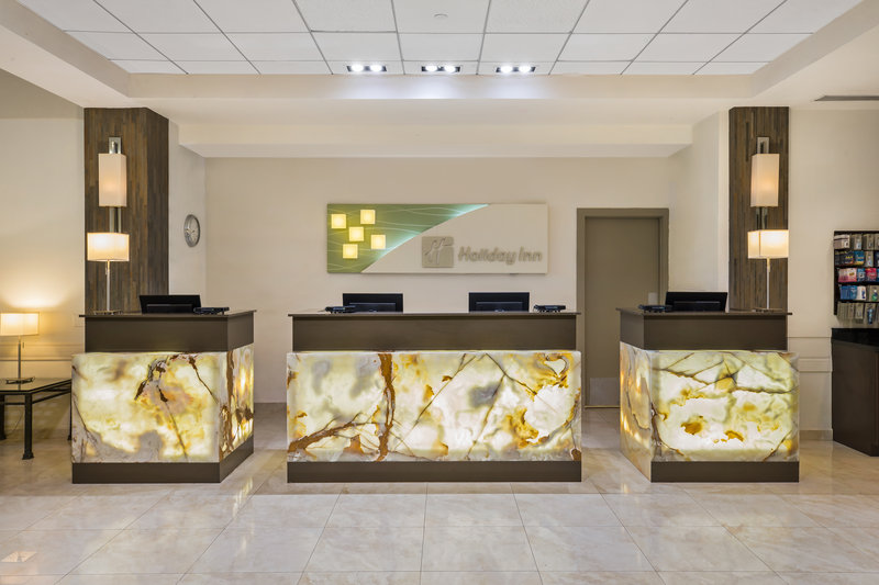 Check in at our Hotel Front Desk
