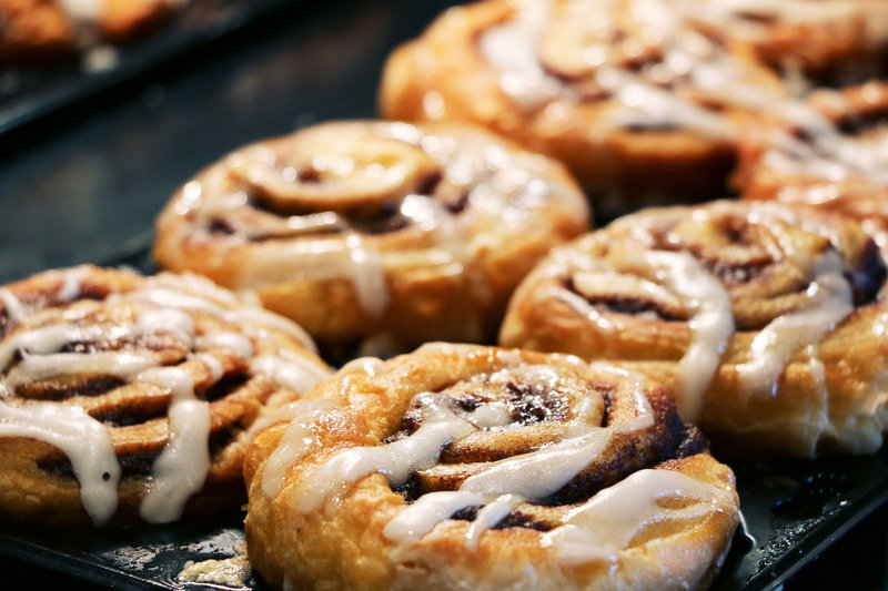 Our Signature Cinnamon Rolls! Millions & Millions served.