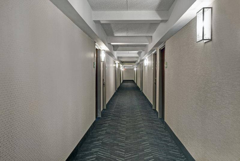 Indoor corridor